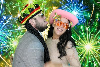 Animation Events LTD: Daniel & Amy's wedding photo booth